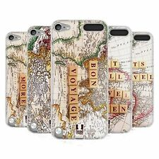 HEAD CASE TRAVEL THE WORLD SILICONE GEL CASE FOR APPLE iPOD TOUCH 5G 5TH GEN