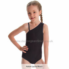 Ladies Nylon Lycra Dance Gear Mia One Sleeved Leotard