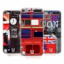 HEAD CASE I LOVE LONDON SILICONE GEL CASE FOR APPLE iPOD TOUCH 5G 5TH GEN