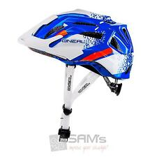 O'Neal Q Helm MTB Weiß Blau All Mountain Enduro Fahrrad Trail Mountainbike oneal