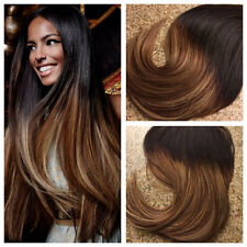 40 STRISCE 100GR EXTENSION CAPELLI SHATUSH BIADESIVE ADESIVE MOSSE LISCI 50CM