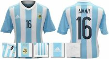 *15 / 16 - ADIDAS ; ARGENTINA HOME SHIRT SS / AIMAR 16 = SIZE*