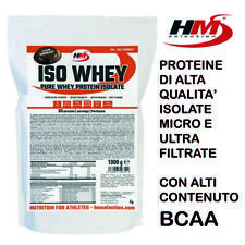 HM Selection - ISO WHEY - PROTEINE ISOLATE ULTRA-MICRO FILTRATE del SIERO LATTE