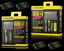 Nitecore i2 / i4 battery charger - Opticfire 18650 3.7v rechargeable batteries