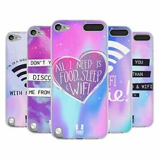 HEAD CASE WIFI LOVE SILICONE GEL CASE FOR APPLE iPOD TOUCH 5G 5TH GEN