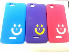 for micromax canvas 2 colors a120 soft back case smiley smile happy sign cover