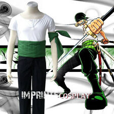 One Piece Roronoa Zoro Cosplay Costume FREE P&P