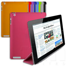 MAGNETICA PIEGHEVOLE SMART COVER+COORDINATO CUSTODIA GEL SET per APPLE iPAD 2/
