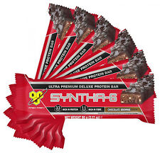 BSN SYNTHA-6 BARS (12 X 90G) HIGH PROTEIN BLEND BARS WHEY ISOLATE, CASEIN & EGG