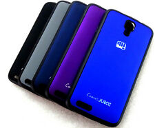 IMPORTED LOGO SERIES SOFT+HARD BACK CASE COVER 4 MICROMAX CANVAS JUICE A77 A177