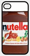 NUTELLA CHOCOLATE SPREAD personalised REAR COVER CASE fits iPHONE 6 plus 5 5C 4