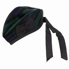 Black Watch Modern Tartan Glengarry Kilt Hat