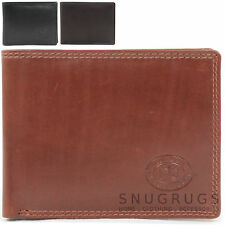Mens Super Soft Stylish Leather Bi-Fold Wallet with Multiple Features