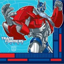 Transformers Prime Lunch Luncheon Napkins Party Birthday Accessory Packs - 16/32