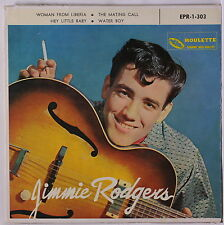 "JIMMIE RODGERS: Jimmie Rodgers, Vol. 1 45 (PC, 1"" split) rare Oldies"