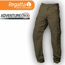 Regatta Trousers Zip Off Mens Trousers Work Hiking Trousers Outdoor Camping
