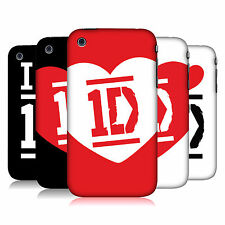OFFICIAL ONE DIRECTION I LOVE ONE DIRECTION HARD BACK CASE FOR APPLE iPHONE 3GS