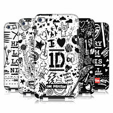 OFFICIAL 1D DOODLE DESIGN HARD BACK CASE FOR APPLE iPOD TOUCH 4G 4TH GEN