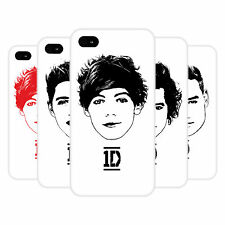 OFFICIAL ONE DIRECTION 1D GRAPHIC FACES HARD BACK CASE FOR APPLE iPHONE 4S