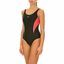 SWIMSUIT BODYLIFT BODY SHAPING WOMAN COSTUME DONNA ARENA KITE 1A447 54 BLACK
