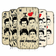 OFFICIAL ONE DIRECTION 1D DOODLE GRUNGE HARD BACK CASE FOR APPLE iPHONE 3GS