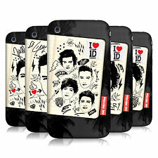 OFFICIAL ONE DIRECTION 1D FANPHERNALIA HARD BACK CASE FOR APPLE iPHONE 3G