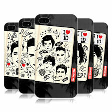 OFFICIAL ONE DIRECTION 1D FANPHERNALIA HARD BACK CASE FOR APPLE iPHONE 4