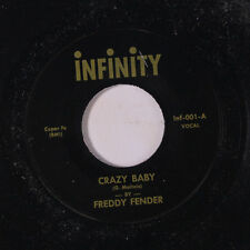 FREDDY FENDER / ROCKY FELLERS: Crazy Baby / South Pacific Twist 45 (re) Oldies