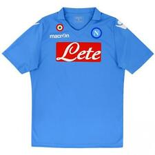 SSC Napoli maglia replica home 2014 15 Macron Mens jersey shirt outlet trikot