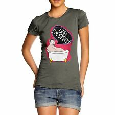 Twisted Envy Women's President Taft Stuck In Bath Short Sleeve T-Shirt