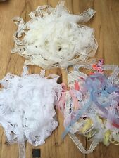 Vintage Lace Bridal Trimming New 20-25mts £4.50 free pp craft/card/ new colours