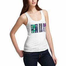Twisted Envy Women's The George Eliot Collection 100% Cotton Tank Top