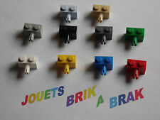 Lot lego brique brick 1x2 modifié avec pin tenon Choose color ref 2458
