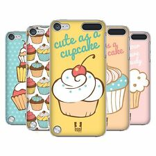 HEAD CASE DESIGNS CUPCAKES HARD BACK CASE FOR APPLE iPOD TOUCH 6G 6TH GEN