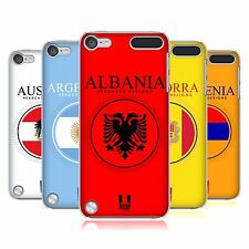 HEAD CASE DESIGNS FLAG PATCHES SET 1 CASE FOR APPLE iPOD TOUCH 6G 6TH GEN