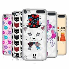 HEAD CASE DESIGNS PRINTED CATS SERIES 1 CASE FOR APPLE iPOD TOUCH 6G 6TH GEN