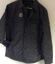DC MENS DARK GREY CASUAL SHIRT SIZE MEDIUM ***REDUCED***