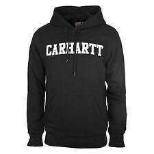 Carhartt Hooded College Sweat schwarz - Herren College Hoodie aus French Terry