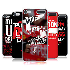 OFFICIAL LIVERPOOL FC LFC REDMEN HARD BACK CASE FOR APPLE iPOD TOUCH