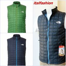 THERMOBALL VEST SMANICATO UOMO GIACCA THE NORTH FACE BODYWARMER JACKET WESTE
