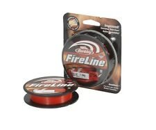 Berkley Fireline Red / 270m / braided line / Superline