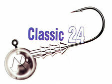 Mustad Classic 24 - size #4/0 / jig heads / 3-30g / 3pcs. per pack