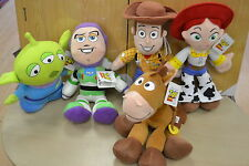 DISNEY PIXAR LARGE SOFT TOY STORY ALIEN WOODY JESSIE BUZZ LIGHTYEAR Or BULLSEYE
