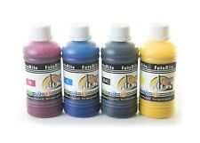Pigment ink ciss ink refill 4 x 100ml fits with Epson printers bulk refill ink