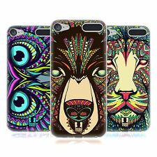 HEAD CASE AZTEC ANIMAL FACES SERIES 1 GEL CASE FOR APPLE iPOD TOUCH 6G 6TH GEN