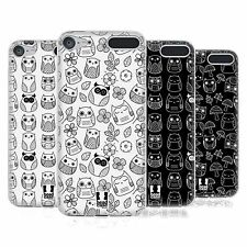 HEAD CASE DOODLE OWLS SOFT GEL CASE FOR APPLE iPOD TOUCH 6G 6TH GEN