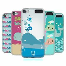 HEAD CASE KAWAII WHALES SOFT GEL CASE FOR APPLE iPOD TOUCH 6G 6TH GEN