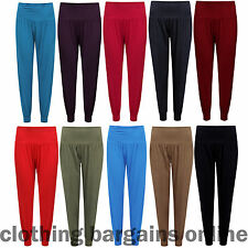 Womens Harem Pants Ladies Girls Baggy Yoga Casual Ali Baba Hareem Leggings