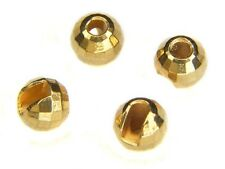 Reflex Slotted Tungsten Beads / Gold / *10pcs* / fly tying materials