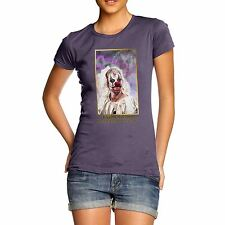 Twisted Envy Women's Scary Giggles Mc Clown Organic Cotton T-Shirt